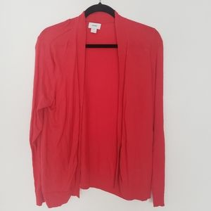 Old Navy | Womens XL Red Cardigan Sweater